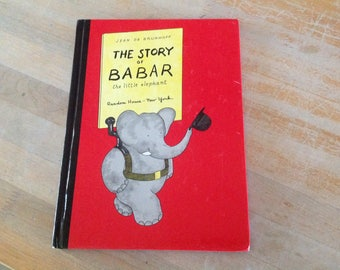 The Story Of Babar The Little Elephant JeanBrunhoff 1961