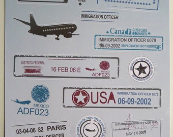 Retro Sticker Decorative Sticker Laptop Suitcase Sticker Masking Sticker - 1 Sheet 15 Pcs