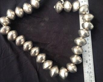 Large Metal Tuareg Beads 209g Mali