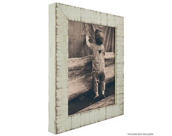 craig frames 11x14 inch rustic white picture frame lancashire 15 wide 1500031114