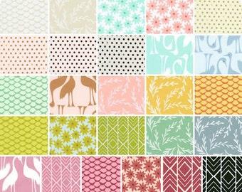 Pond - Half Yard Bundle - Elizabeth Hartman for Robert Kaufman Fabrics - POND-HY - 26 prints