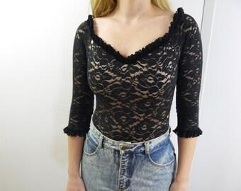 Vintage Lace Bodysuit