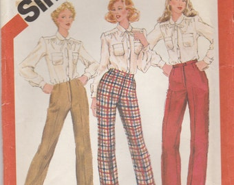 Proportioned Pants Pattern Simplicity 5616 Size 18 Uncut