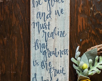 Thomas Jefferson Quote Sign