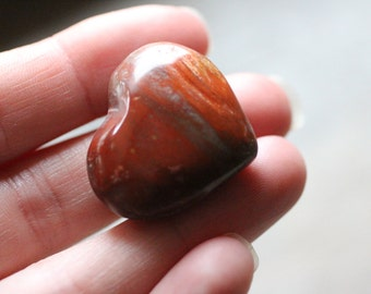 Red Creek Jasper Heart #81198