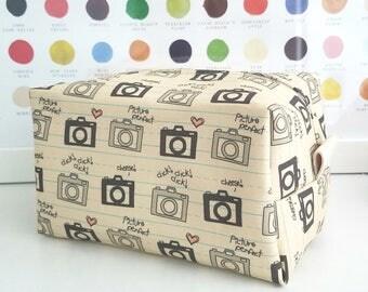 Camera Cosmetic Bag - Large Makeup Bag - Waterproof Makeup Bag - Mens Toiletry Bag