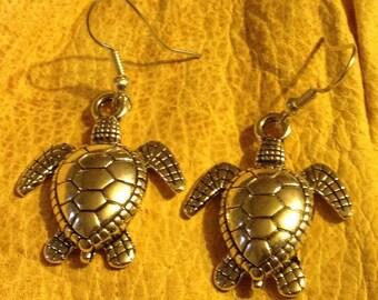 Sea Turtle earrings FREE shipping