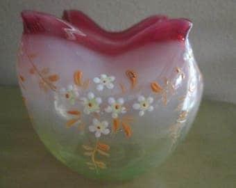 Victorian Rose Bowl or Vase