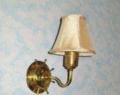 RESERVED FOR MAURA Vintage Ship Wheel Lamp