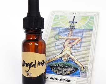 THE HANGED MAN Thoth Tarot Perfume Oil