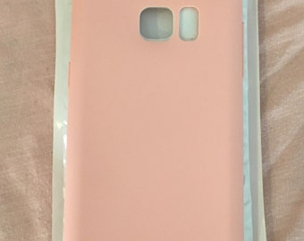 Peachy Pink Note 5 case Soft