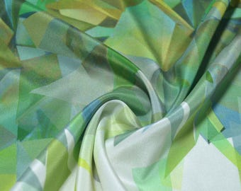 Silk Crepe de Chine, 112cm * 118cm , 18mm, beautiful Luxury Silk Fabric for Evening dresses, summer Skits,Blouses, sold by a fixed size