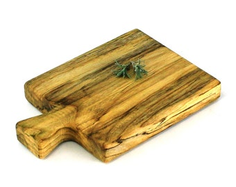 """Small Cheese Board - Silver Maple - Ready to Ship - 9""""x6""""x1"""""""