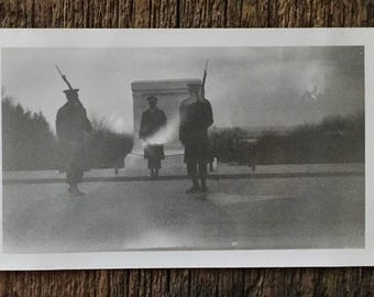 Original Vintage Photograph The Ghostly Soldiers 1950