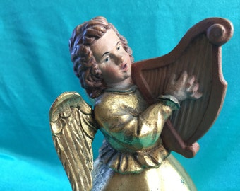Anri Angel Music Box Happy Birthday Reuge Vintage