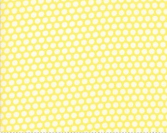 Bliss Dot Yellow Basics by Bonnie and Camille from Moda -1 yard