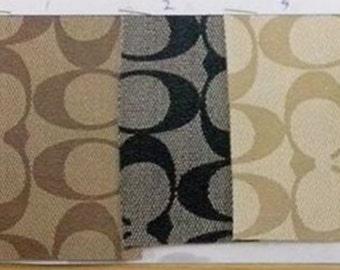 Coach Vinyl fabric