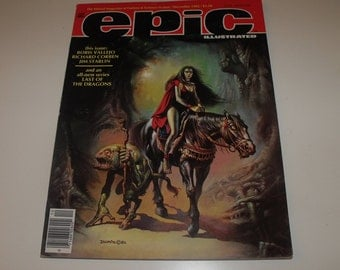 EPIC ILLUSTRATED (December 1982)