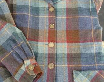 Pendleton plaid jacket wool classic