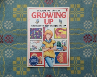 Growing Up - Usborne 1980s Facts of Life Book - Vintage Children's Book