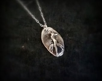 Silver Artemis pendant  by RECREATE4U