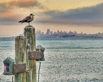 San Francisco Sausalito View Photo Print