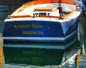 Queen Anne Sausalito Photo Print
