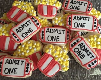 Movie Night Cookies (2Dozen)
