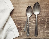 Dining Room Wall Art, Rustic Country Kitchen Decor, Vintage Farmhouse Style, Spoon Art, Still Life Food Photography | 'Three Spoons'
