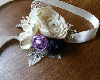 Wedding, Corsage, Sola wood Corsage,Corsage, mothers corsage, wrist Corsage, ivory wrist corsage, Sola Bouquet