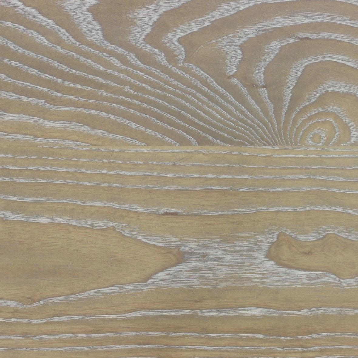 Ash Wood Finish ~ Cerused ash sample