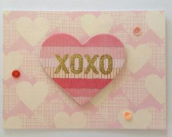 Ooak Love card for male or female