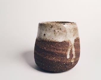 Dark Stoneware Mini Vessel