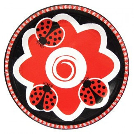 ladybug themed baby shower ladybug theme birthday party girls baby shower cute as a bug ladybug plates ladybug tableware table decor