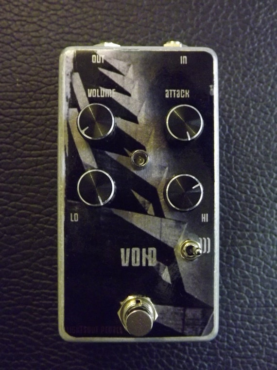 VOID by Lights Out Bass and Guitar Pedal Doom and Synth fuzz Sunn o)) inspired Meathead Fuzz face inspired