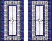 2 Custom Stained Glass Window Panels 50% Deposit