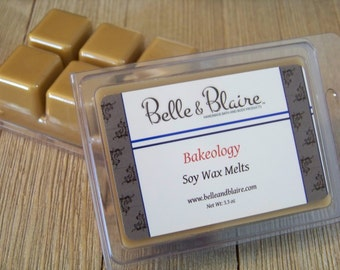 Bakeology- Soy Melts- Scented Wax Melts- Soy Tarts