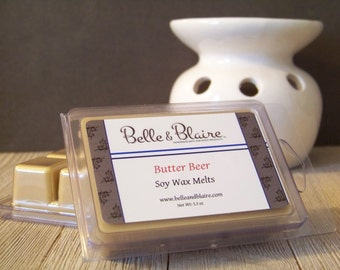 Butter Beer- Soy Tarts- Harry Potter Inspired- Scented Wax Melts