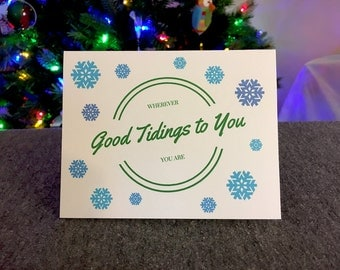 Good Tidings: 4x6 Card