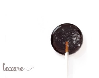 6 Chocolate Lollipops // Chocolate Salted Caramel // Made to Order // Fall Wedding Favor // Valentine's Day Gift