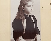 Antique Victorian Photo Edna Comfort