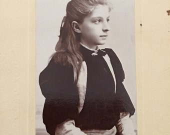 Antique Victorian Photo Edna Comfort