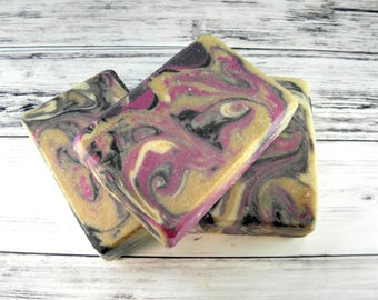 Moonlit Path goat milk soap-wholesale soap-soap bar-bar soap-handmade soap-gift women-cold process-wholesale-woman gift-gift for her