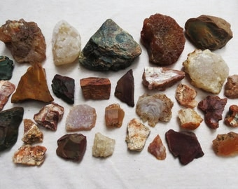 Rock Curiousities Geology Rocks Oregon Crystals Rough Rare Finds Instant Rock Collection Variety Specimens