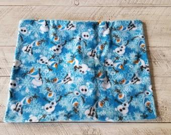Olaf / Frozen Pillowcase - Single Fleece Pillowcase - Standard Size