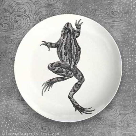 Frog plate melamine dinnerware