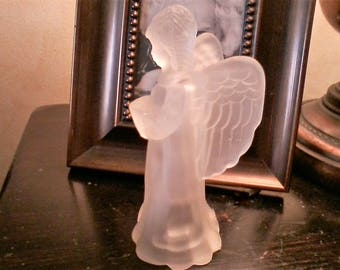 White Angel Night Light