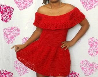 The Sweetheart Crochet Dress Pattern. Instant Download!