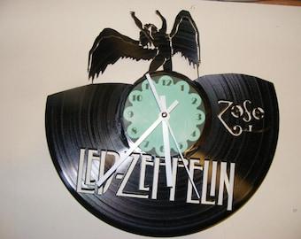 Led Zeppelin Laser Cut Album Clock