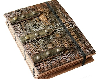 Steampunk Coptic Journal/Sketchbook/ Memory Keeper